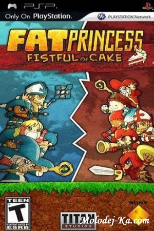 Fat Princess: Fistful of Cake (2010/PSP/RUS)