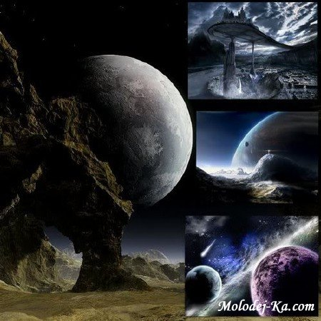Fantastic Planets Wallpapers 1600x1200