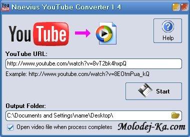 Naevius YouTube Converter 2.1