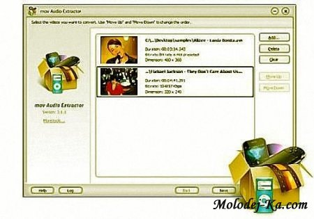 CoolMedia mov Audio Extractor v3.2.9