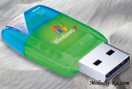 Загрузочный USB накопитель SOS с Windows 7 v.100506 (ОСНОВА)