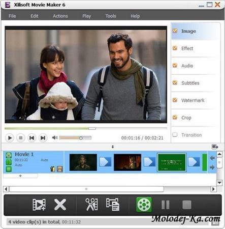 Xilisoft Movie Maker 6.0.2.0310