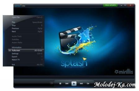 Portable Splash HD Player Lite 1.40