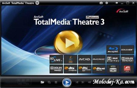 Arcsoft TotalMedia Theatre 3.0.1.175 Platinum Retail with SimHD