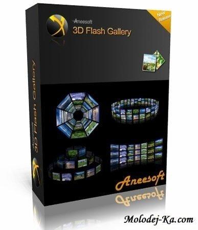 Aneesoft 3D Flash Gallery v2.2.3.414