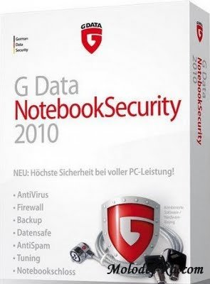 G Data NotebookSecurity 2010 RU