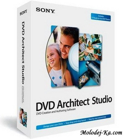 Sony DVD Architect Studio 5.0 Build 128 + (themes)