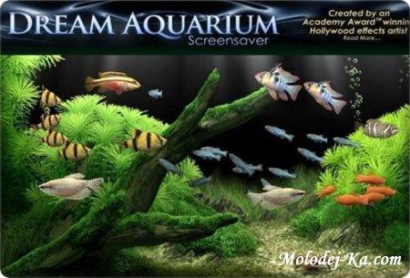 Dream Aquarium Screensaver 1.24 + Aquariums