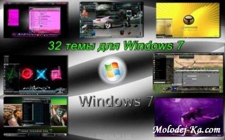 Подборка тем для оформления Windows 7