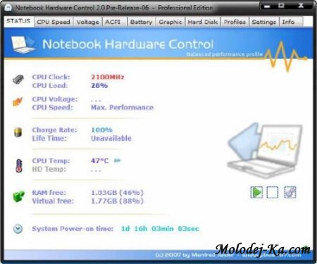 Notebook Hardware Control Pro 2.0.6