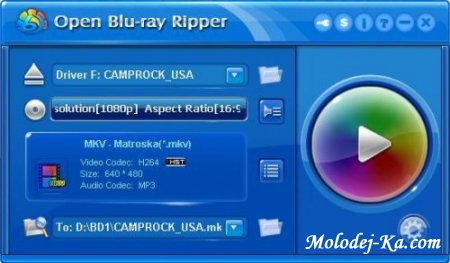 Open Blu-ray Ripper 1.30 Build 430 Retail