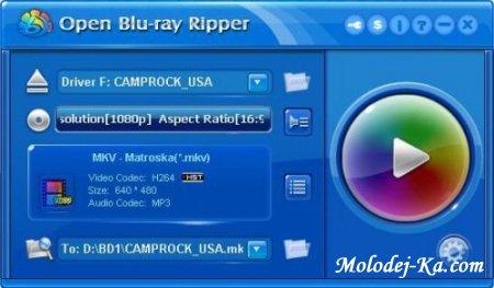 Open Blu-ray Ripper 1.30 Build 430 Retail