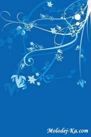 Тема для смартфонов Blue style