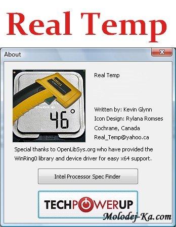 Real Temp 3.59.5 Rus Portable
