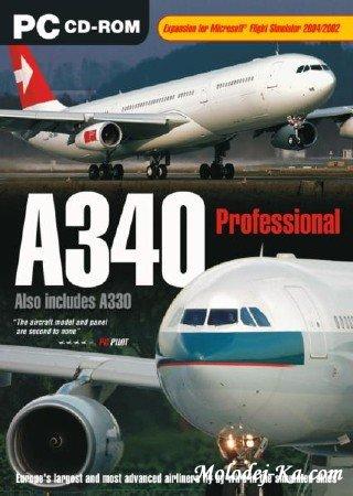 JUST FLIGHT A340 (2010/ENG) скачать бесплатно