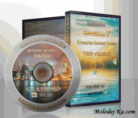 Windows 7 Enterprise X86 x64 Summer Sunset Multiload RU