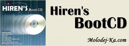 Hiren's BootCD 10.4 + Keyboard Patch + загрузочная флешка