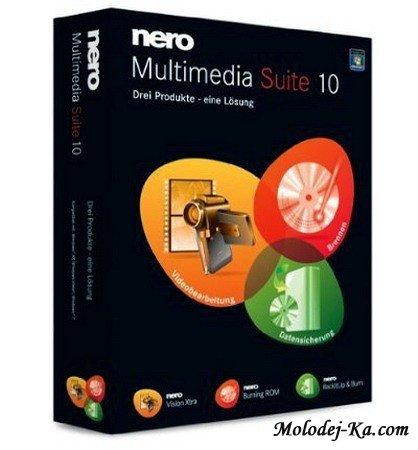 Nero Multimedia Suite 10.2.11100.10.100 (2010)