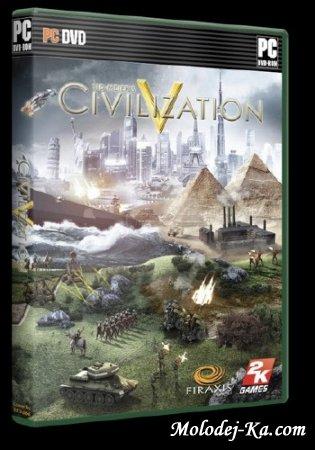 Sid Meier's Civilization V + Deluxe DLC + 110 mods Repack 2010 Ru