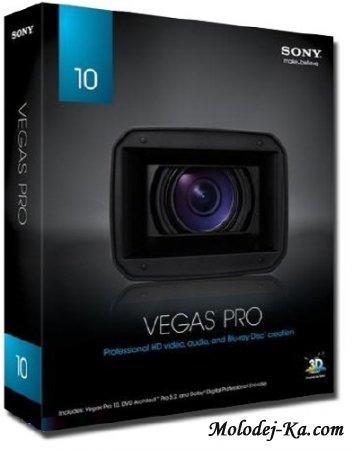 Sony Vegas Pro 10.0a Build 387 (x32) Build 388 (x64) [Eng] (2010)
