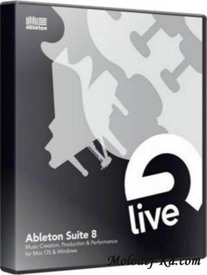 Ableton Suite 8.2 (Eng) + Кряк