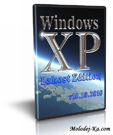 Windows XP SP3 Lakost Edition v10.10.2010