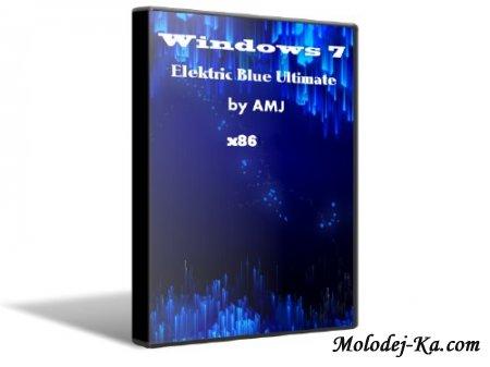 Windows 7 Electric Blue Ultimate х86 by AMJ