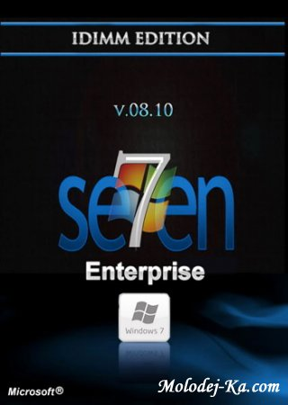 Windows 7 Enterprise IDimm Edition v.08.10 x86