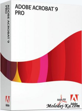 Adobe Acrobat 9 Professional 9.4.1 by mOnkrus DVD RUS / ENG 2010