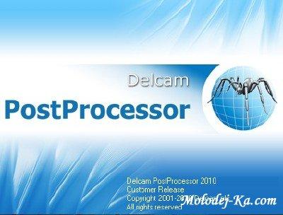 Delcam PostProcessor 2010 SP7 x86+x64 [ MULTILANG +RUS]