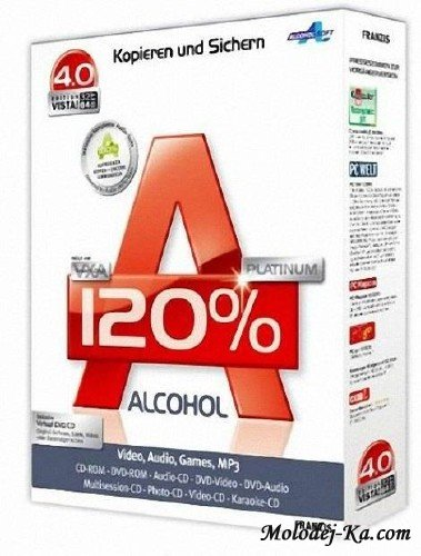 Alcohol 120% 2.0.1 Build 2033 Retail Portable (2011RUS)