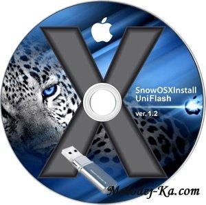 SnowOSXUniFlash v1.2 (SL 10.6.7)