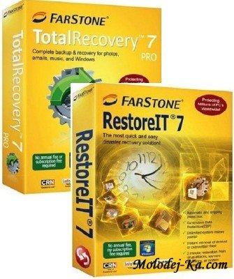 Farstone TotalRecovery Pro v 7 1 1 & RestoreIT v 7 1 1 & VirtualDrive Pro v 14 0 / Eng