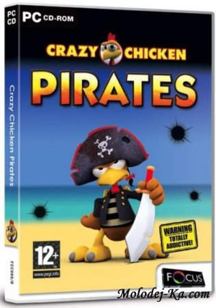 Crazy Chicken Pirates Portable